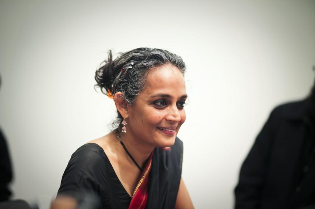 Bilde: Arundhati Roy - Foto jeanbaptisteparis
