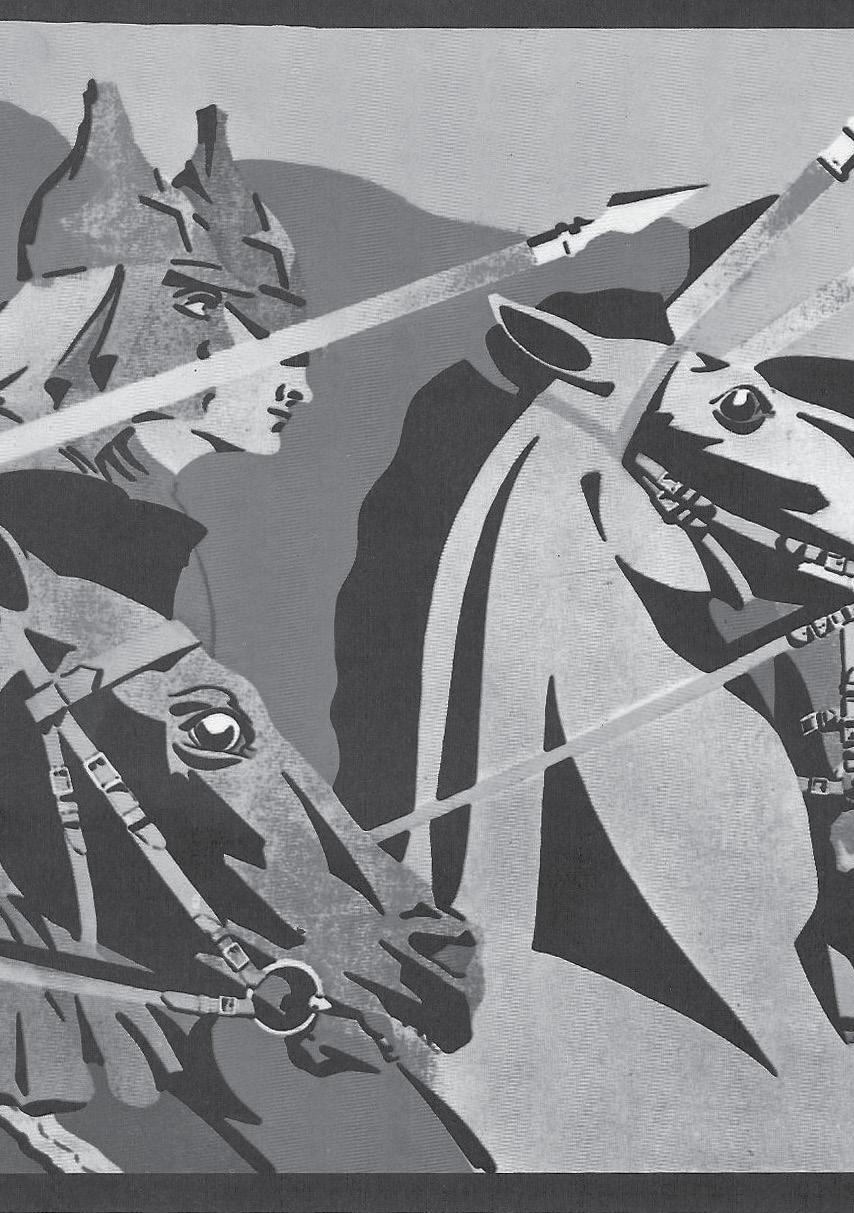 Russisk revolusjonsplakat fra 1919. Kilde: Evergreen Review Reader 1957-1967