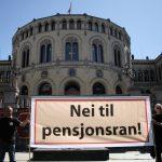 Pensjonsreformen: Offentlig ansatte står for tur